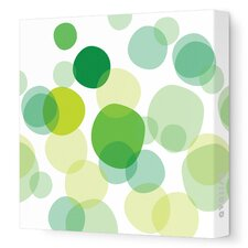 Imaginations Bubbles Stretched Art on Wrapped Canvas