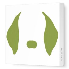 Animal Faces Floppy Ears Stretched Canvas Art
