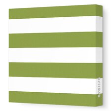 Pattern Lines Stretched Canvas Art