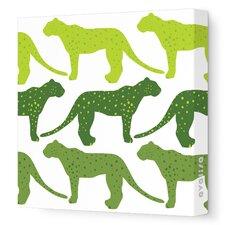 Animals Cheetah Stretched Canvas Art