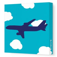 Things That Go Flying Stretched Canvas Art