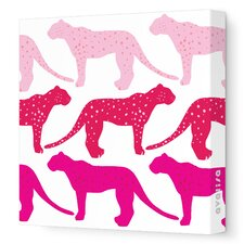Animals Cheetah Stretched Canvas Art