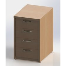 W3 4-Drawer Vertical Filing Cabinet