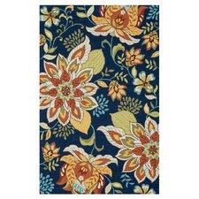 Francesca Blue Floral Area Rug
