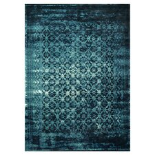 Journey Indigo Blue Area Rug