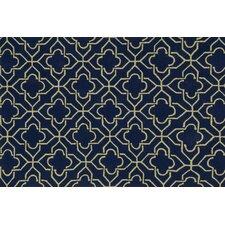 Francesca Navy Geometric Area Rug