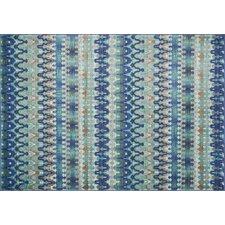 Madeline Blue Stripe Area Rug
