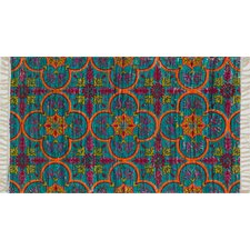 Aria Blue/Orange Rug