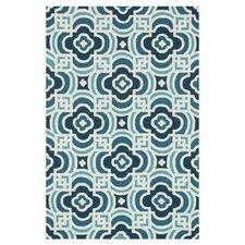Francesca Blue/Turquoise Geometric Rug