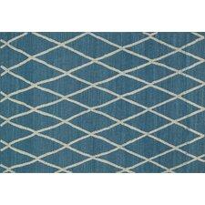 Adler Azure Blue Area Rug