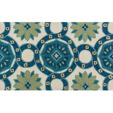 Francesca Ivory & Blue Area Rug
