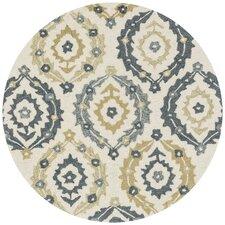 Francesca Ivory & Graphite Floral Area Rug