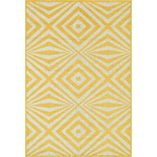 Catalina Yellow Indoor/Outdoor Area Rug