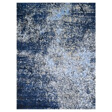 Viera Gray & Navy Area Rug