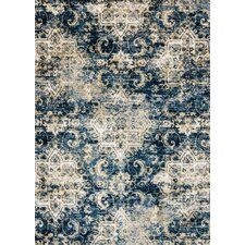 Torrance Navy & Ivory Area Rug