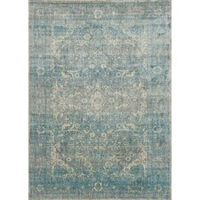 Anastasia Light Blue & Mist Area Rug
