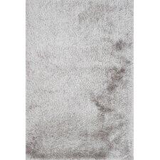 Orian Shag Silver Area Rug