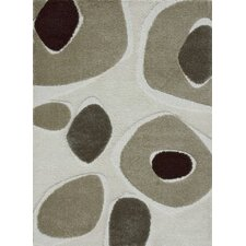 Enchant Gray & Ivory Area Rug