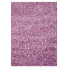 Hera Orchid Purple Solid Area Rug