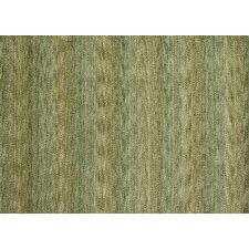 Frazier Green Striped  Area Rug