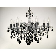 Rialto 8 Light Crystal Chandelier
