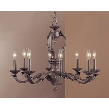 Oxford 8 Light Candle Chandelier