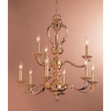 Oxford 9 Light Candle Chandelier