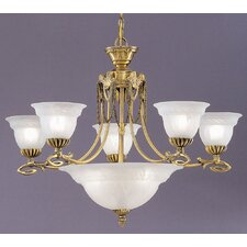 Medallion 8 Light Chandelier
