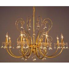 Belleair 8 Light Candle Chandelier