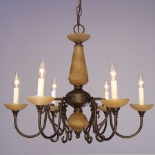 Bloomington 6 Light Candle Chandelier