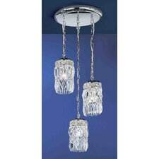 Cascade 3 Light Chandelier