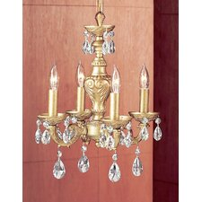 Gabrielle 4 Light Mini-Chandelier