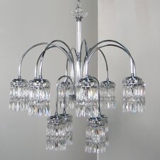 Cascade 8 Light Chandelier