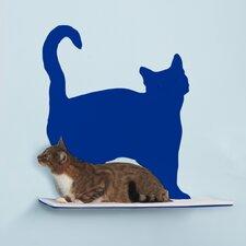 Silhouette Prance Cat Perch