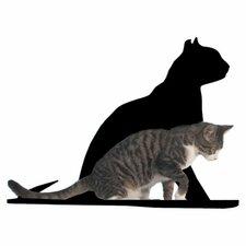 """20"""" Silhouette Gaze Cat Perch"""