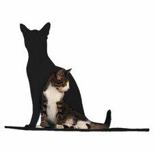 """20"""" Silhouette Cat Perch"""