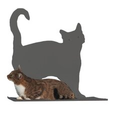 "20"" Silhouette Prance Cat Perch"