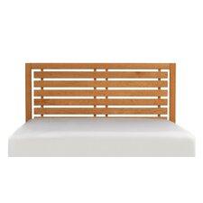 Dominion Storage Panel Bed with Slat Headboard
