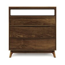 Catalina 3 Drawer Media Chest