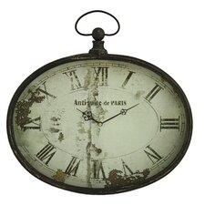 "Sadie Oval 16.5"" Wall Clock"