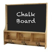 "Cambridge Shelf 2' 5"" x 2' 6"" Chalkboard"