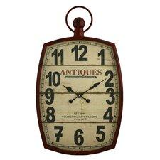 """McVille 19.5"""" Pocket Watch Wall Clock"""
