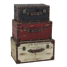 Torrance 3 Piece Trunk Set