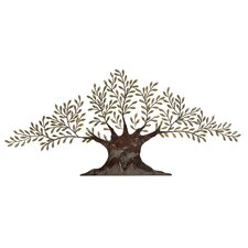 Large Olive Tree Wall Décor