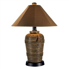"""Canyon Outdoor 35.5"""" H  Table Lamp with Empire Shade"""