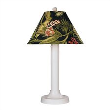 """Seaside Outdoor 34"""" H Table Lamp with Empire Shade"""