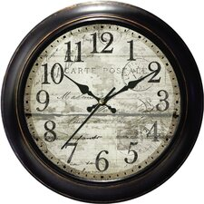"Decorative Home 18"" Wall Clock"
