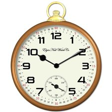 "Elgin Classic 14""  Pocket Watch Wall Clock"