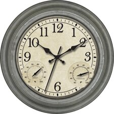 "16"" Indoor / Outdoor Wall Clock"