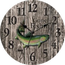 "12"" MDF Case Wall Clock"